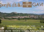 Borghi d'Italia dedicato Comune Gavi. Tv2000