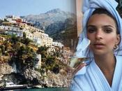 """Foto. Emily Ratajkowski vacanza Positano: paradiso terra"""""""