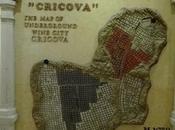 Moldavia città vino sotterranea gallerie
