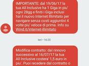 Wind aumenta canone Inclusive Fresh 7,55 euro