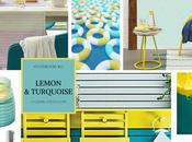 Moodboard Lemon Turquoise