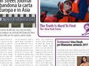 Wall Street Journal abbandona carta Europa Asia