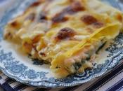 love food] Lasagnetta salmone, brie zucchine