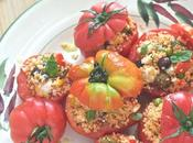 Pomodori ripieni cous alle verdure