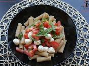 Rigatoni integrali pomodorini, mozzarelline basilico...la pasta dell'estate