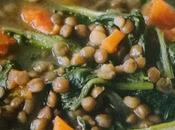 Minestra bietole lenticchie