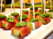 Finger Food Prosciutto Melone