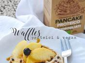 Waffles proteici vegan
