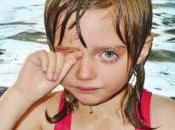 fare figlio l'allergia cloro andare piscina?