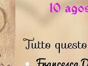 """[Cover Reveal] """"Tutto questo amore"""" Francesca D'Isidoro"""