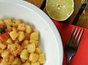 Gnocchetti patate gamberetti lime