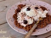 Waffle Foresta nera, trionfo golosità