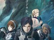 Trailer Poster l'anime Godzilla