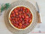 Torta salata pomodorini