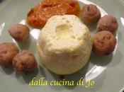 Piccoli flan ricotta parmigiano