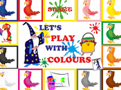 Colours board games