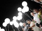Palloncini Bianchi Festa Matrimonio Compleanno