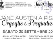 """""""Orgoglio pregiudizio""""a Pisa. Jane Austen Grand Tour"""
