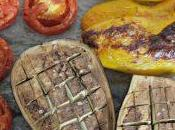 #VEGGYME Crema melanzane pomodori forno avocado, feta lime
