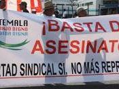 Assassinato leader sindacale Guatemala, vittima numero novembre 2004