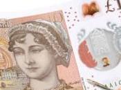 circolazione oggi nuove sterline Jane Austen