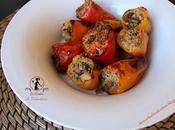 Peperoni dolci ripieni olive taggiasche, ricetta