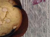 Muffin ricotta gocce cioccolato bianco