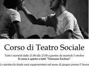 """Corso Teatro sociale tutti: """"Nessuno escluso"""""""