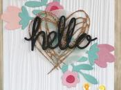 [#Cardmaking] Hello Floral card