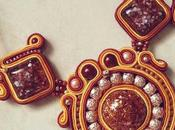 "Collana soutache ""Autumn York"""
