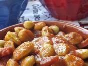 ricetta portoghese: favas guisadas chorizo