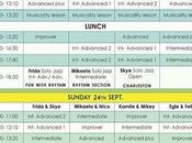 """22,23,24 settembre """"Swingala"""" Festival Swing all'Acquario Romano"""
