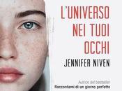 Recensione L'universo tuoi occhi Jennifer Niven