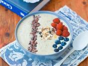 Smoothie bowl pesca banana