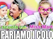 Imparare colori Miss Marta
