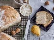 Quick quick bread semintegrale rosmarino cardamomo cotto pentola.