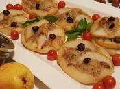 Pizzette pesto nocciole, gorgonzola pere