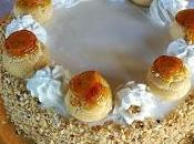 Torta Saint Honorè.