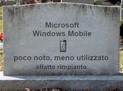necrologio Windows Mobile scritto Microsoft