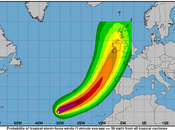 uragano nome Ophelia avvicina all'Europa