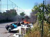 Altra immondizia bruciata Gogna!