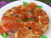 Torta pomodori cipolle rovesciata