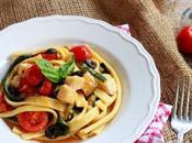 Pasta fresca zucchine pesce spada