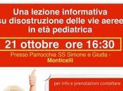 Manovre Salvavita Pediatriche Lezione gratuita Ascoli Piceno