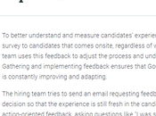 Come avere Candidate Experience Google? parte