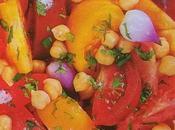 Insalata fredda ceci pomodori