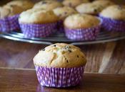 Muffin gocce cioccolato ripieni Nutella