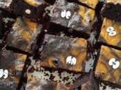 Brownies alla zucca Halloween senza glutine