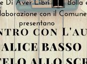 Eventi lettura#17 Incontro l'autore Alice Basso, ditelo allo scrittore, Rosta.