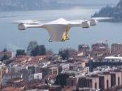 Pipenet, posta arriva casa drone